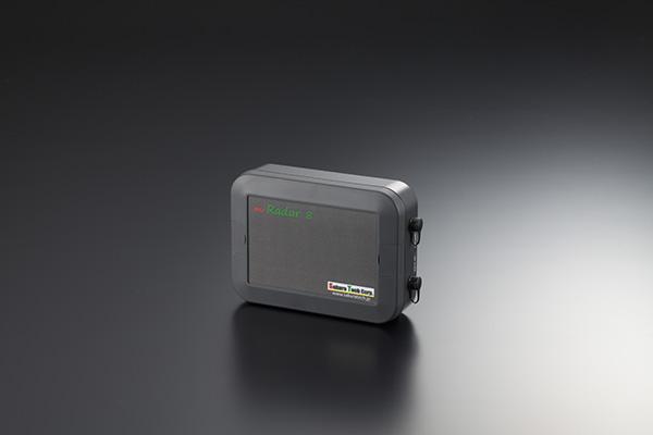 IP67相当の防水ケースにセットしたmiRadar 8モジュール